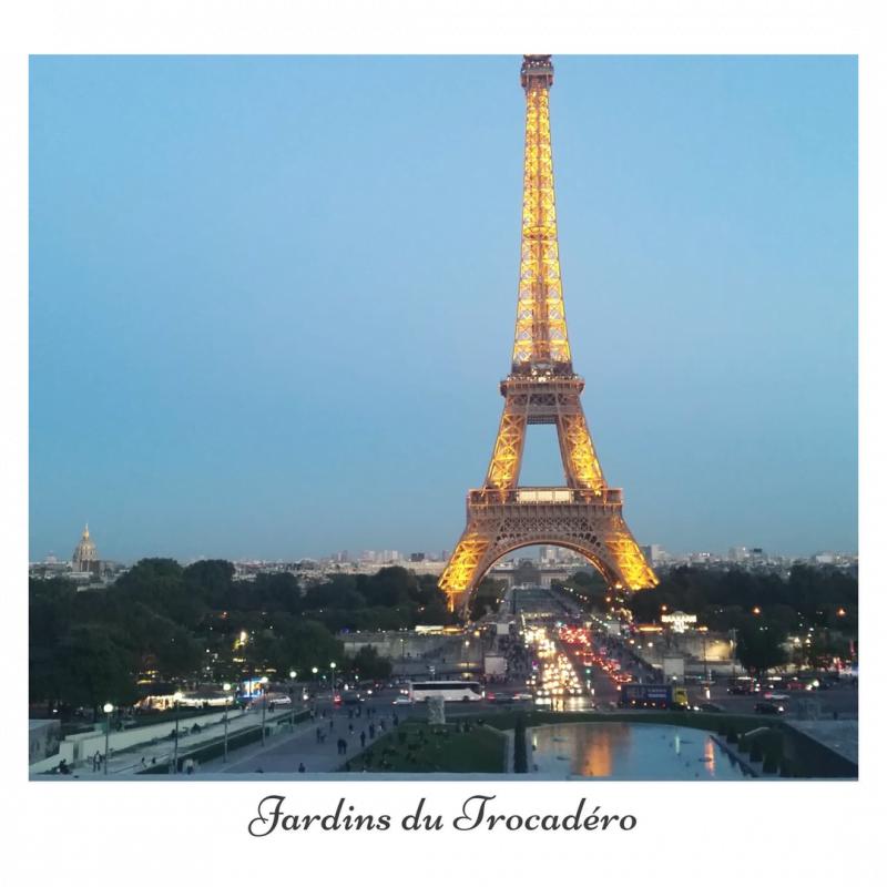 Jardins du Trocadéro EIFFEL