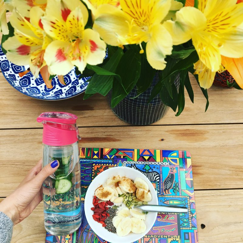 HEALTHY START FOR THE DAY- DIY FACIAL SERUM RECIPE AND BREAKFAST IDEAS