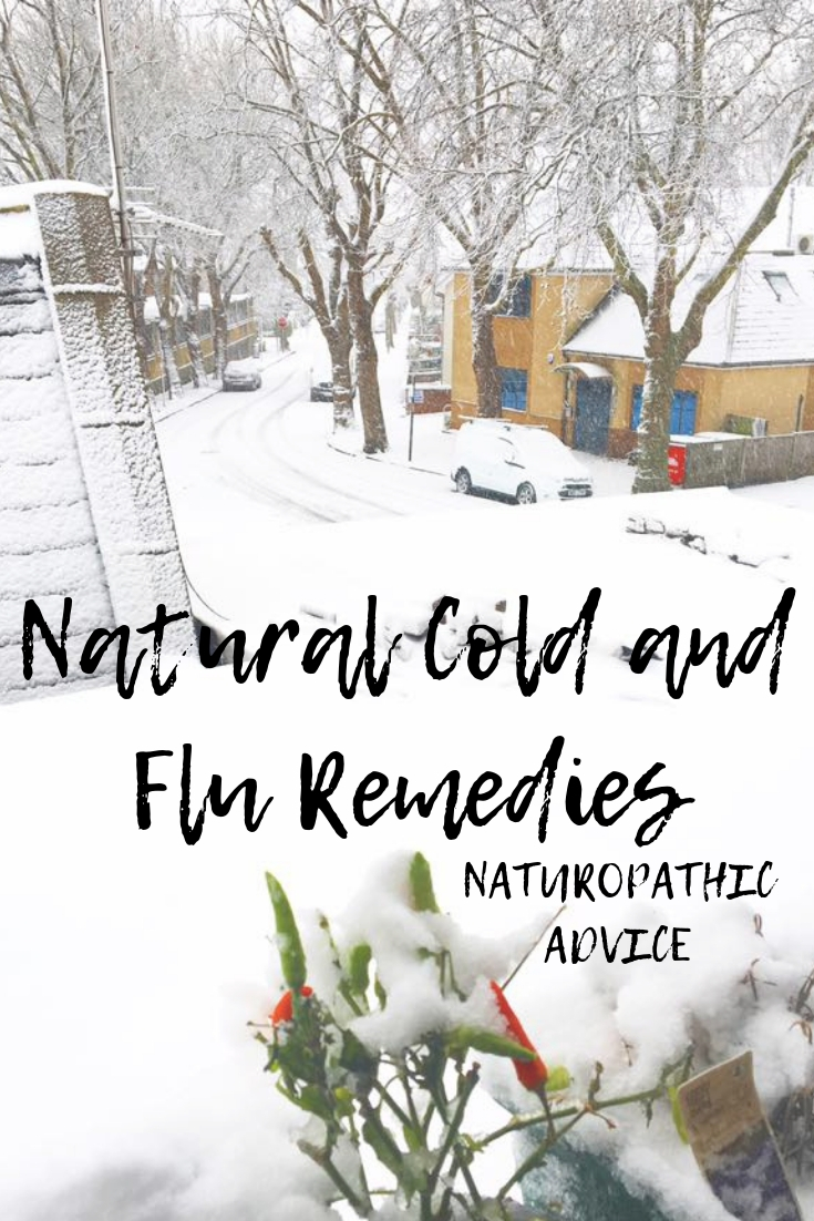Natural Cold and Flu Remedies for healthy immune system