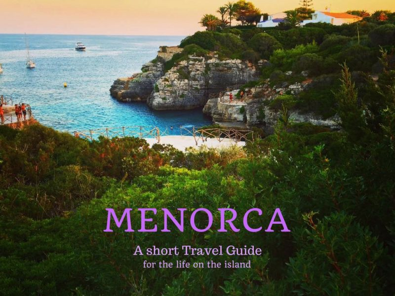Menorca travel guide paz by nature