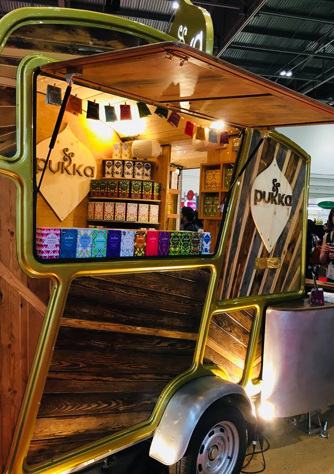 London Natural & Organic 2018 trade show ExCeL - Blogger Review