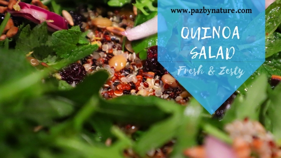 Fresh and Zesty Quinoa Salad