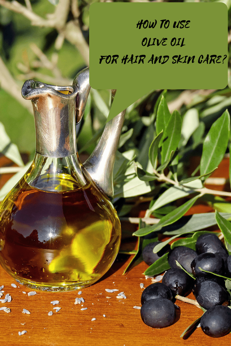Olive oil aromatherapy